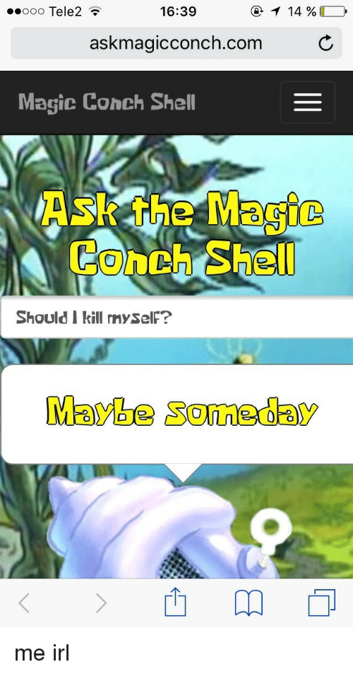 ask the magic conch online dating