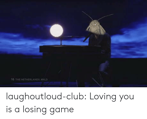 Netherlands: 16 THE NETHERLANDS laughoutloud-club:  Loving you is a losing game