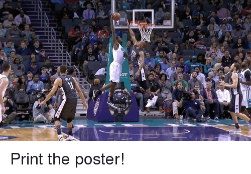 Sports, Bot, and Posterity: 18  BOT  3 M Print the poster!