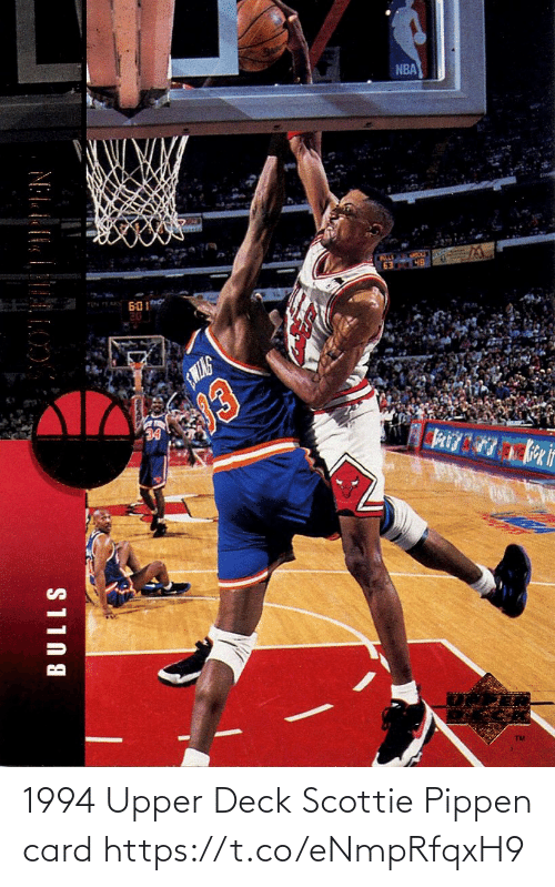 card: 1994 Upper Deck Scottie Pippen card https://t.co/eNmpRfqxH9