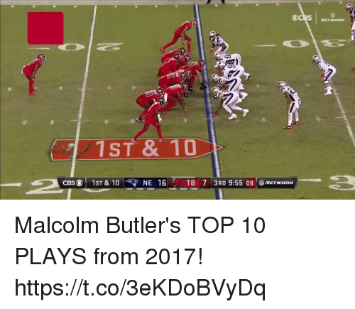Memes, 🤖, and Top: 1ST & 10 Malcolm Butler's TOP 10 PLAYS from 2017! https://t.co/3eKDoBVyDq