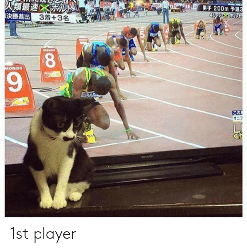 player: 1st player