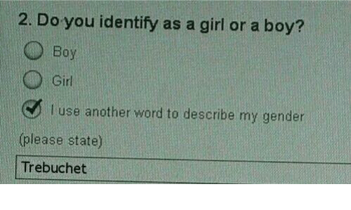 Boy dating girl who identifies as by