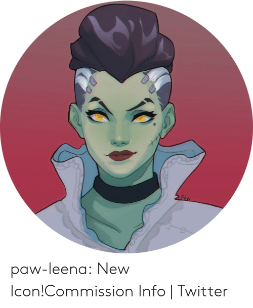 Henlo: 2 PAW paw-leena:  New Icon!Commission Info | Twitter