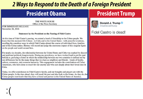compare and contrast united states foreign