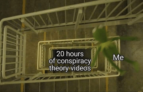 Conspiracy Theory: 20 hours  of conspiracy  theory videos  Me