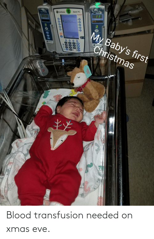 blood transfusion: 20  STANDR  INFUSE  ALAM  STANDRY  ALARM  Alaris Puln  Alaris' PC  CareFusion  Alaris Pump  8888  Guardrails  BEBE  RATE (mL/h)  RATE (mLibl  BCS  B VITB=17.0 mL  CHANNE  SELECT  CHANNEL  SELECT  My Baby's first  Clese slasp bsiste  vening dasr  clamp before  pening door  PAUSE  SLINCA  PAUS  VOLUM  BOE LISED  Cది  AUNO  AD AUST  O SYSTEM  ON  OPTICNS  AN  WITANY  RESTART  CareFusion  3.  Christmas  CareFusion  4  8.  ENTER  CLEAN  CANCEL  99999  Winter  Pals  0099999 Blood transfusion needed on xmas eve.