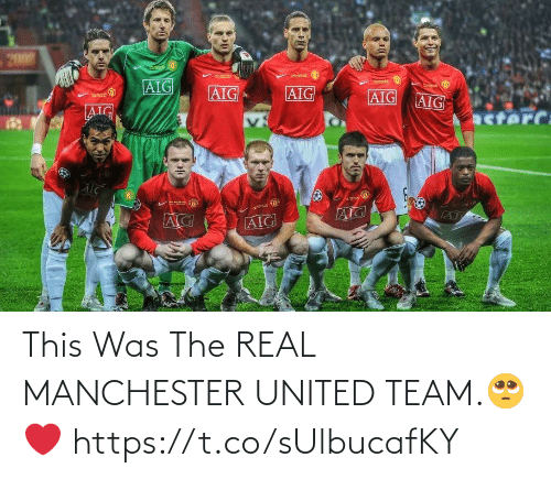 Manchester United: 200  AIG  AIG  AIG  AIG  AIG  AIG  acterC:  AIG  AIG This Was The REAL MANCHESTER UNITED TEAM.🥺❤️ https://t.co/sUlbucafKY
