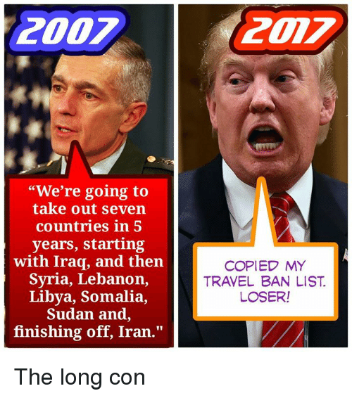 How Long Was The Iraq Travel Ban