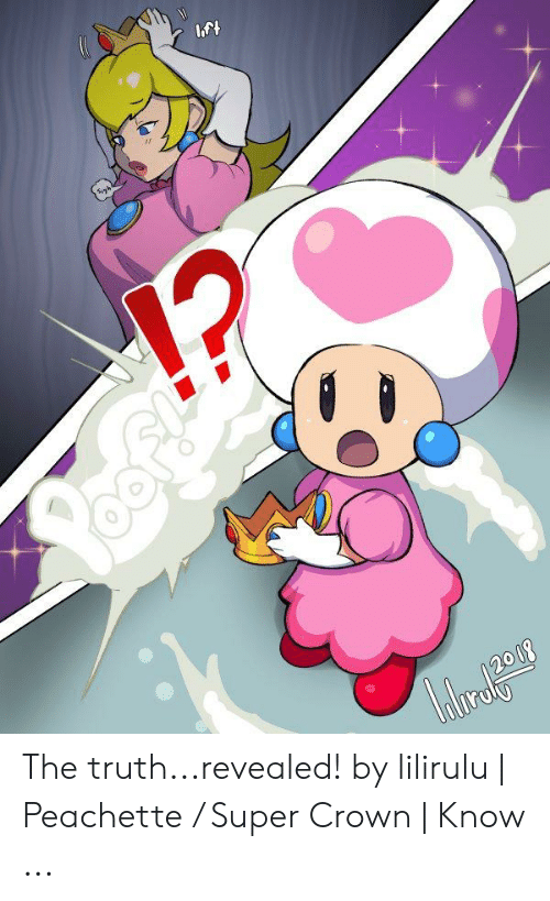 Super Crown: 2008 The truth...revealed! by lilirulu | Peachette / Super Crown | Know ...