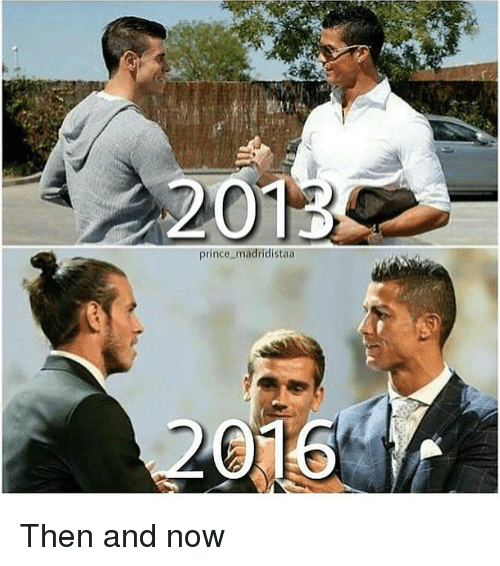 Memes, Prince, and 🤖: 201  prince madridistaa  2016 Then and now