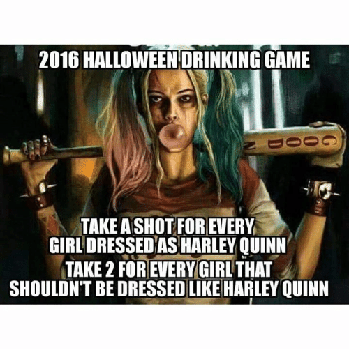 GAME TAKEASHOT FOR EVERY GIRL DRESSED AS HARLEY QUINN TAKE 2 ...
