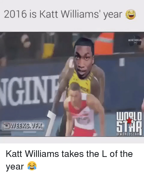 Blackpeopletwitter, Katt Williams, and Take the L: 2016 is Katt Williams' year  UURALO  O WORLD STAR Katt Williams takes the L of the year 😂