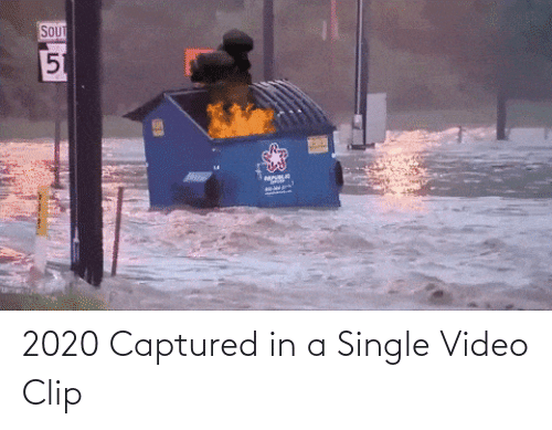 captured: 2020 Captured in a Single Video Clip