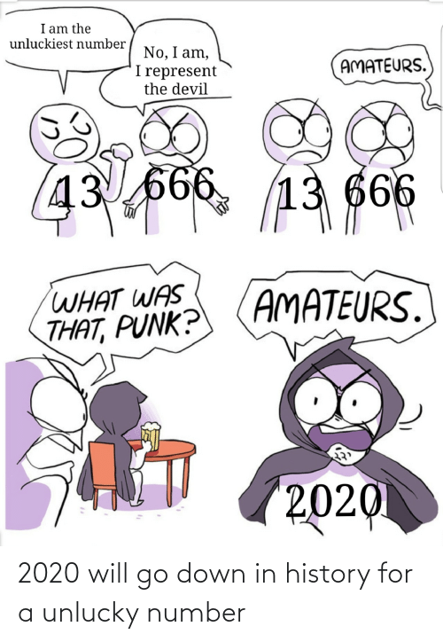 unlucky: 2020 will go down in history for a unlucky number