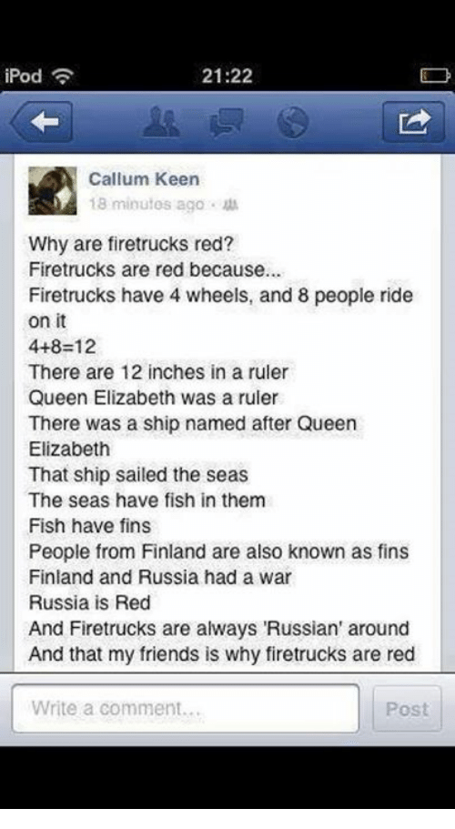 Why Firetrucks Are Red