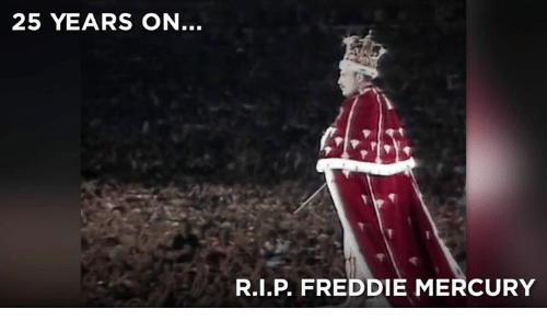 Memes, Mercury, and Freddie Mercury: 25 YEARS ON  R.I.P FREDDIE MERCURY