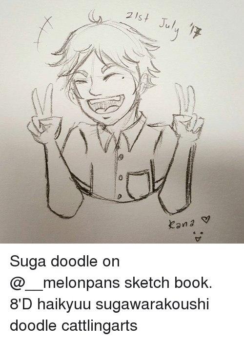 memes book and doodle 2lst july xan suga doodle on melonpans sketch