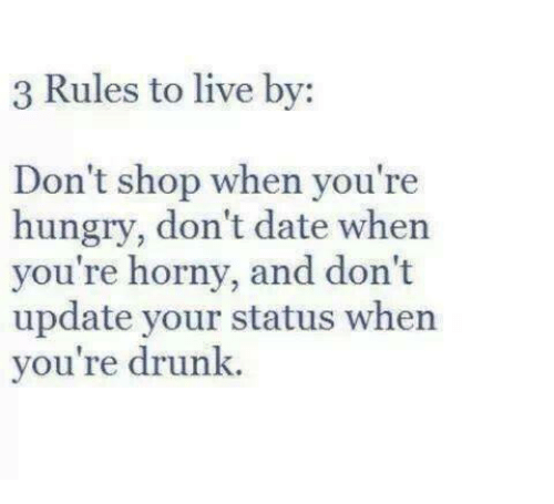 relationship rules to live by funny