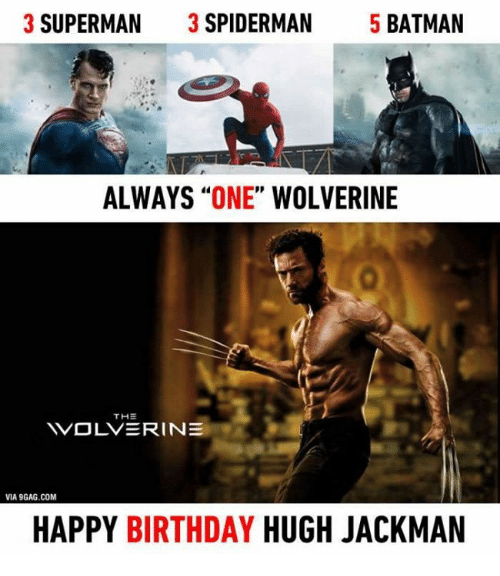 3 superman 3 spiderman 5 batman always one wolverine th 5025231 🔥 25 best memes about birthday, memes, spiderman, and superman,Spiderman Happy Birthday Meme