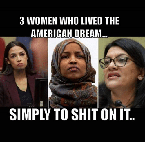 American Dream: 3 WOMEN WHO LIVED THE  AMERICAN DREAM  SIMPLY TO SHIT ON IT..