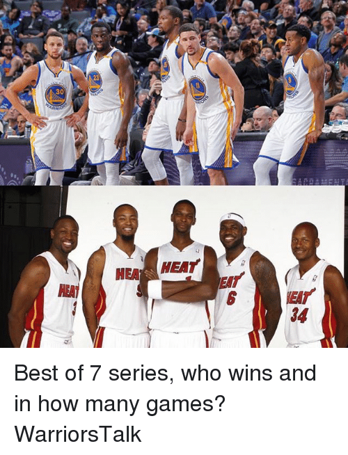Basketball, Golden State Warriors, and Sports: 30  HEA HEAT  HENT  EAT  EMT  34 Best of 7 series, who wins and in how many games? WarriorsTalk