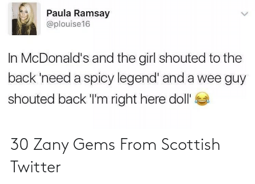 Twitter: 30 Zany Gems From Scottish Twitter