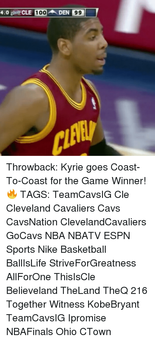 Memes, 🤖, and Coast to Coast: 4.0  CLE 100 AN DEN 99 Throwback: Kyrie goes Coast-To-Coast for the Game Winner! 🔥 TAGS: TeamCavsIG Cle Cleveland Cavaliers Cavs CavsNation ClevelandCavaliers GoCavs NBA NBATV ESPN Sports Nike Basketball BallIsLife StriveForGreatness AllForOne ThisIsCle Believeland TheLand TheQ 216 Together Witness KobeBryant TeamCavsIG Ipromise NBAFinals Ohio CTown