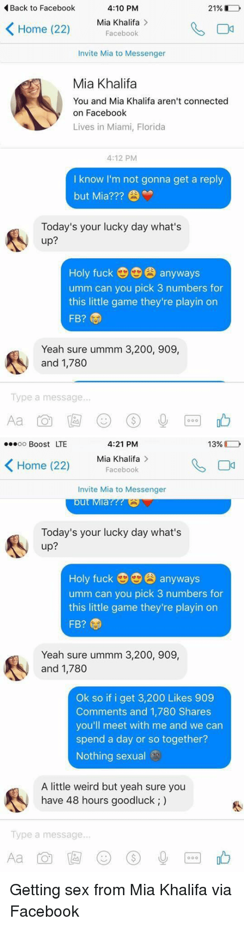 Chat With Mia Khalifa