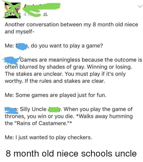 playing a game is fun only when you win essay Essay/term paper: why i like football essay no one man can win a football game that is what makes football so much fun to play and watch.
