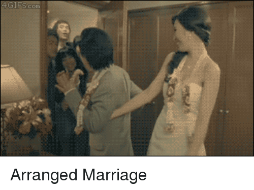 Arranged Marriage: 4 GIFSc Arranged Marriage