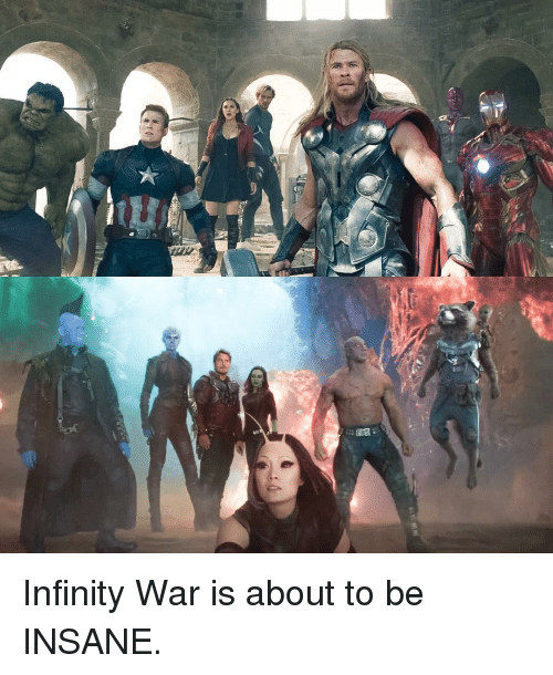 Infiniti: 4 Infinity War is about to be INSANE.