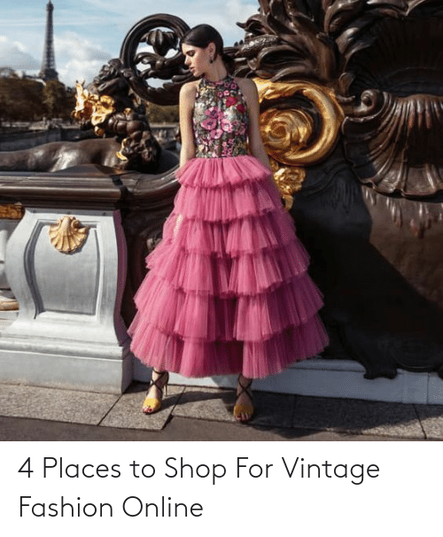 online: 4 Places to Shop For Vintage Fashion Online