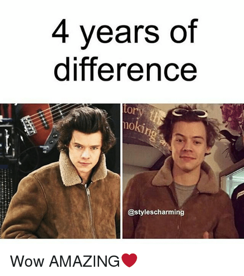 4 years of difference styles charmin wow amazing%E2%9D%A4 11719160 4 years of difference styles charmin wow amazing❤ meme on sizzle
