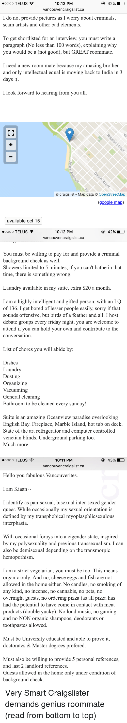 top 10 degrees to get craigslist english