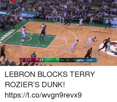 """game-7: 4CLE  55  2BOS -511 3rd 