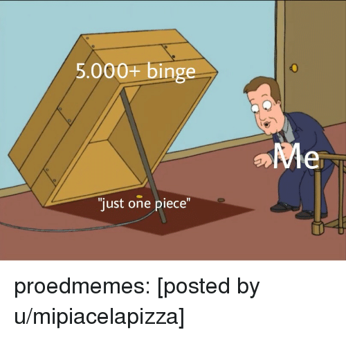 Tumblr, Blog, and One Piece: 5.000+ binge  just one piece proedmemes:  [posted by u/mipiacelapizza]