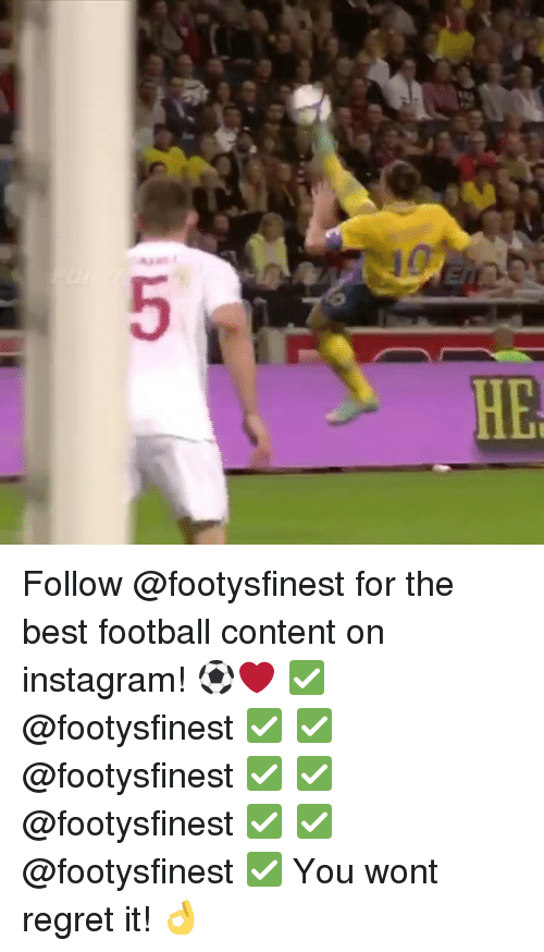 Regretment: 5 Follow @footysfinest for the best football content on instagram! ⚽️❤️ ✅@footysfinest ✅ ✅@footysfinest ✅ ✅@footysfinest ✅ ✅@footysfinest ✅ You wont regret it! 👌