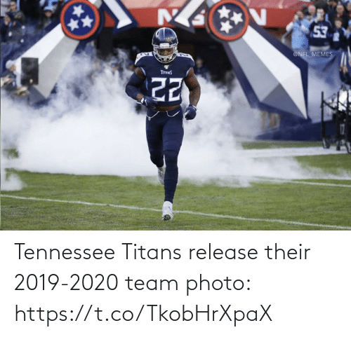 Tennessee: 53  @NFL_MEMES  TITANS Tennessee Titans release their 2019-2020 team photo: https://t.co/TkobHrXpaX