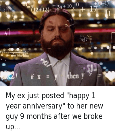My ex is dating right after we broke up