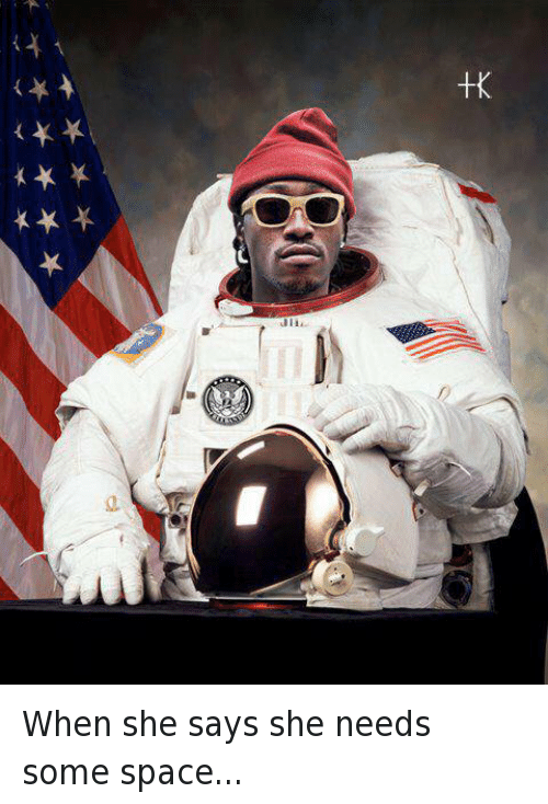Bae, Future, and Puns: When she says she needs some space...