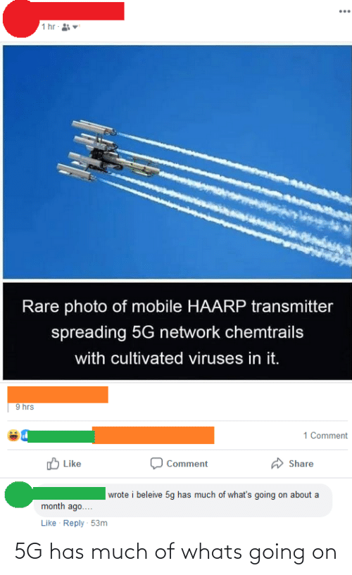 whats going on: 5G has much of whats going on