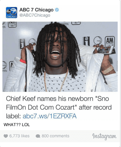 Chief Keef, Lol, and : WHAT?? LOL