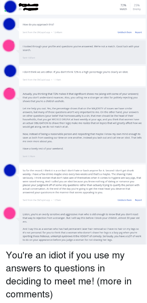 r OkCupid comments xt any other good dating site similar to okcupid
