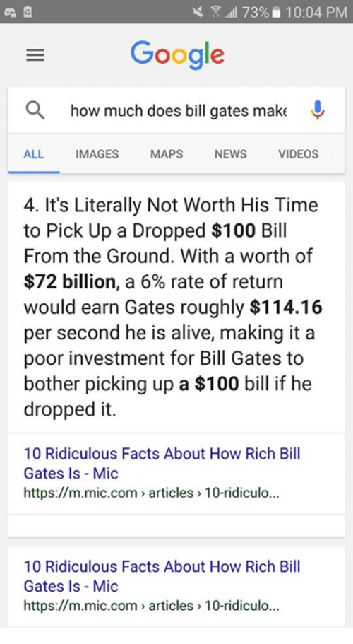 how much money does bill gates make from microsoft