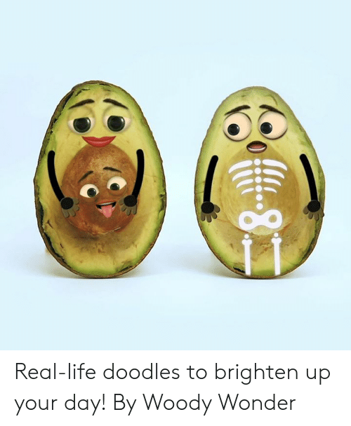 woody: -8 Real-life doodles to brighten up your day!   By Woody Wonder