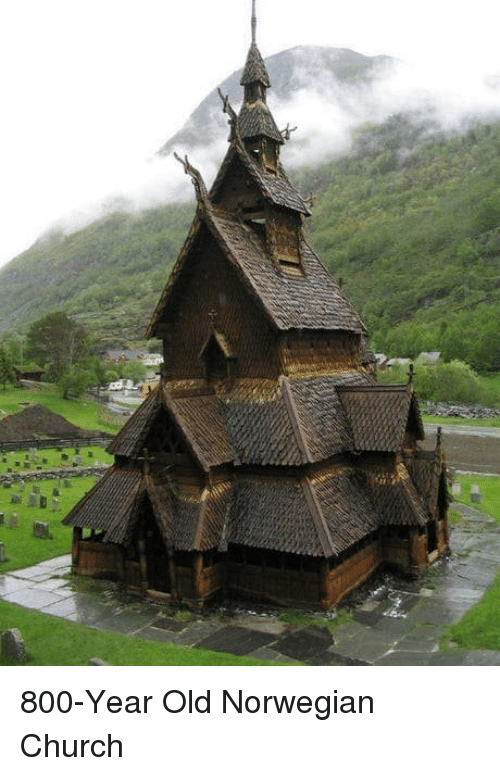 Norwegian: 800-Year Old Norwegian Church