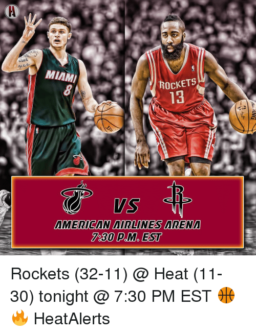 84 Sdbe Miami Rockets 8 13 American Airlines Arena 730 Pm