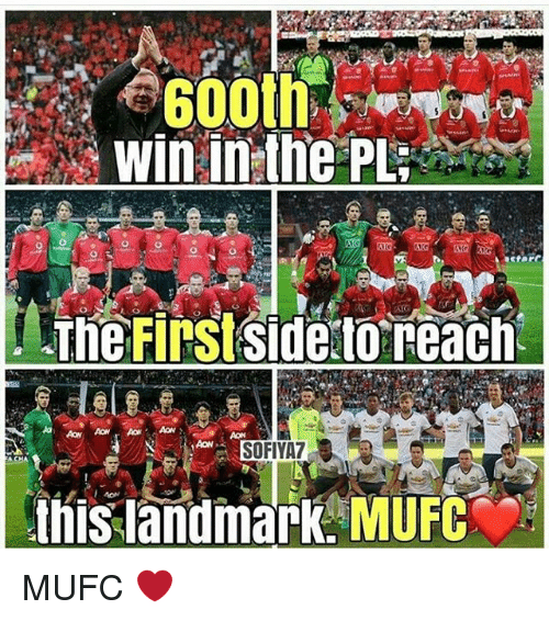Memes, 🤖, and Landmark: 8600th  Win in the PL  The Firstside to reach  SOFIYA7  this landmark MUFC MUFC ❤