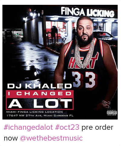Dj khaled is finga licking miami going out of business luch hour - 1 6
